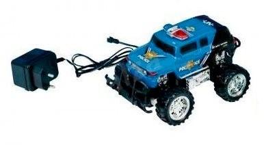 Teddies Monster Truck modrý - RC-Modellauto