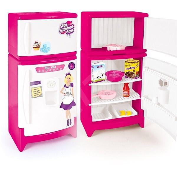 Down-Kunststoff-Kühlschrank mit Gefrierfach - Platikmodel | Alza.de