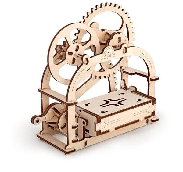 Ugears 3d Mechanische Puzzle Box Für Visitenkarten Bausatz