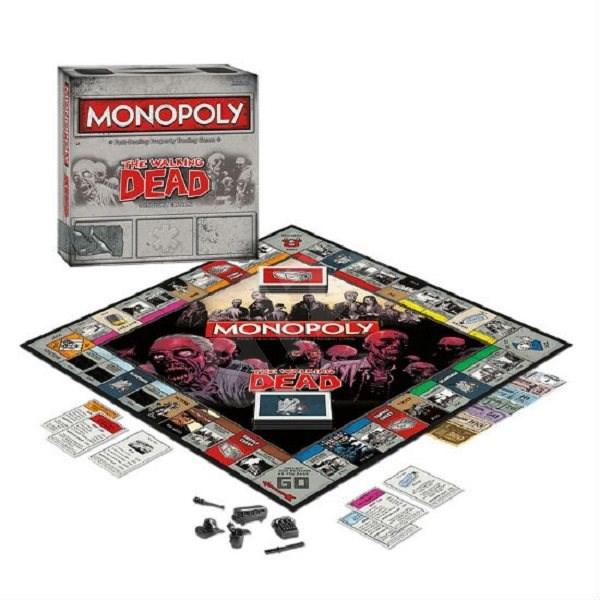Monopoly The Walking Dead Edition (ENG) - Gesellschaftsspiel