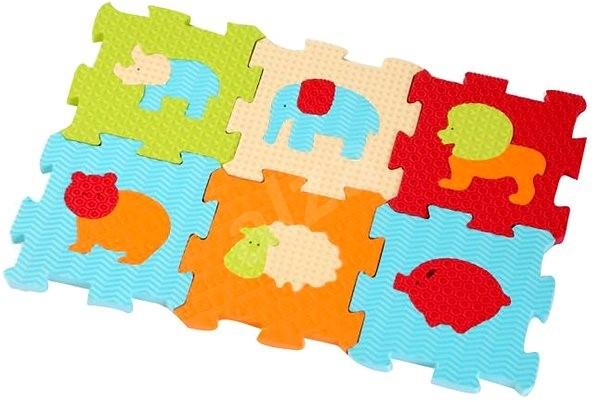 Ludi 46,5x31,5cm Tiere - Schaum-Puzzle