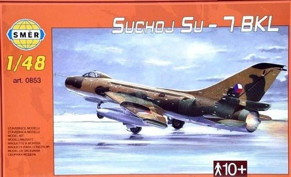 Smer Modell-Satz 0853 Flugzeug - Suchoj Su-7 BKL - Plastik-Modellbausatz