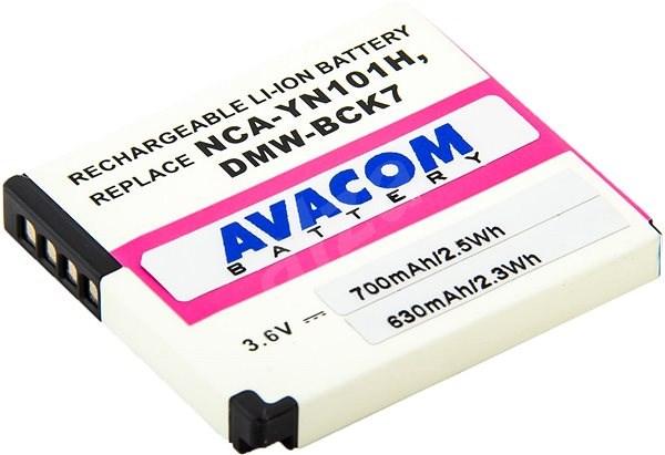 AVACOM für Panasonic DMW-BCK7 Li-Ion 3.6V 700mAh 2.6Wh - Kamera Batterien