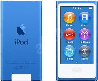 Ipod Nano 16gb Blau 7th Gen Mp3 Player Alzade
