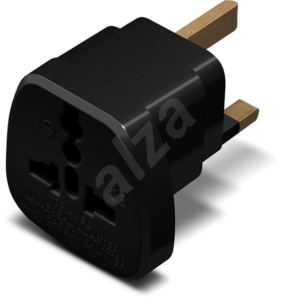 CONNECT IT UK Power Adapter Schwarz - Reiseadapter