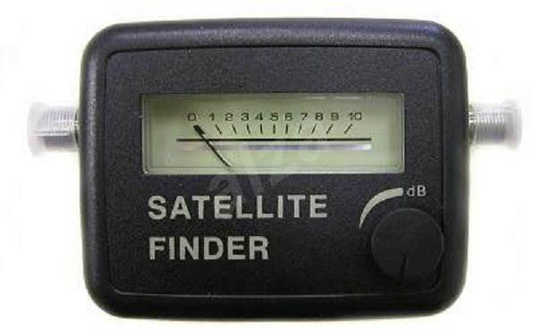 Satellitenfinder für digitale Satanlagen SAT-Finder - Signalstärken-Messer