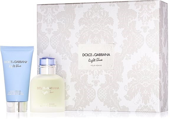 DOLCE GABBANA Blue Light für Herren EdT Set 150 ml - Parfüm-Geschenkset