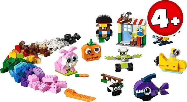 Lego Classic 11003 Lego Bausteine Witzige Figuren Baukasten