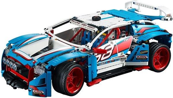 Lego Technic 42077 Rallyeauto Baukasten Alzade