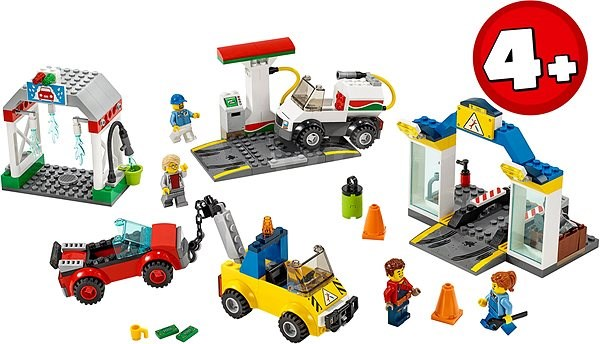 LEGO City 60232 - Große Werkstatt - LEGO-Bausatz