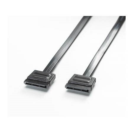 Kabel napájecí SATA (F) - SATA (F), černý, 1,2m -