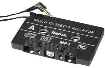 Hama für die CD/MP3-Wiedergabe in einem Kassettenrekorder - Adapter