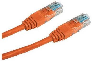 Datacom CAT5E UTP orange 1m - Netzkabel