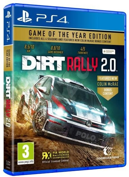 DiRT Rally 2.0 - Game of the Year Edition - PS4 - Konsolenspiel