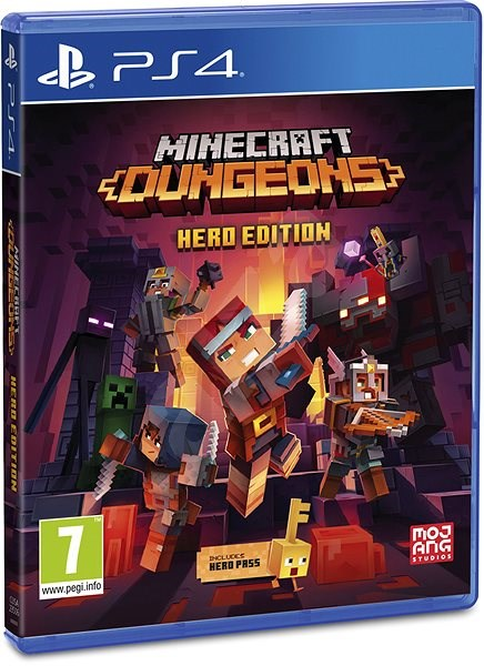 Minecraft Dungeons: Hero Edition - PS4 - Konsolenspiel