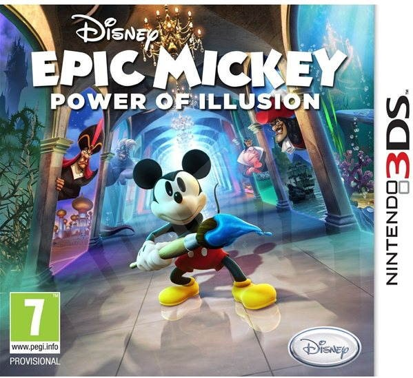 Nintendo 3DS - Epic Mickey 2: The Power of Illusion - Konsolenspiel