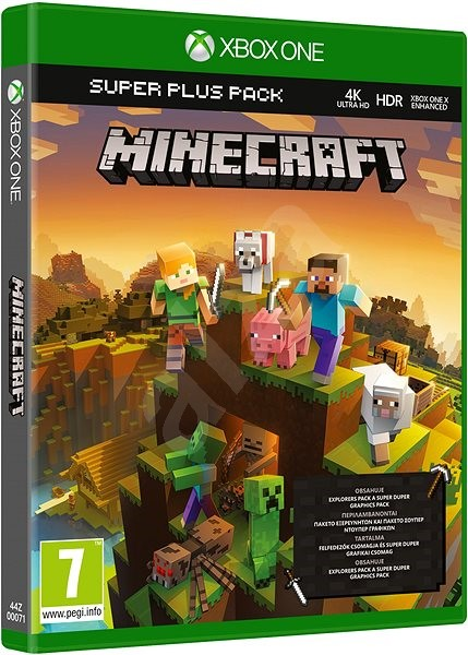 Minecraft Super Plus Pack Xbox One Spiel Für Die Konsole Alzade - Minecraft spiele arten