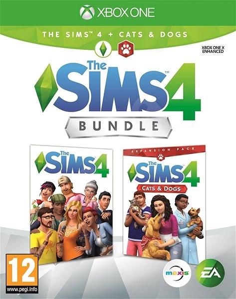 Die Sims 4 Cats And Dogs Bundle Volles Spiel Erweiterung Xbox