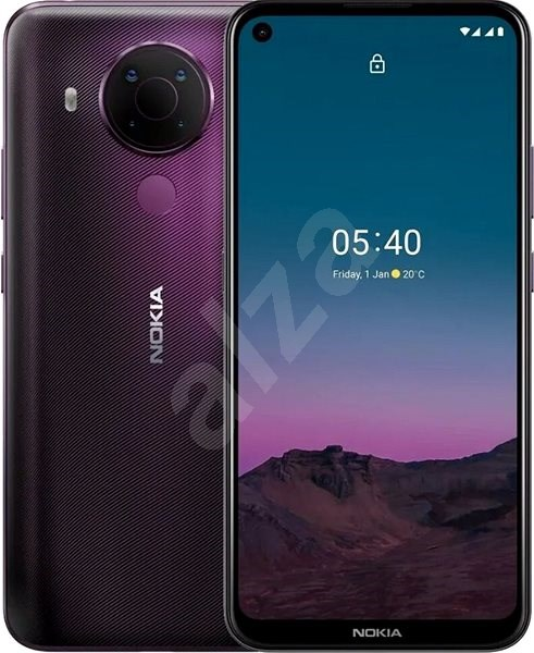 Nokia 5.4 64 GB - lila - Handy