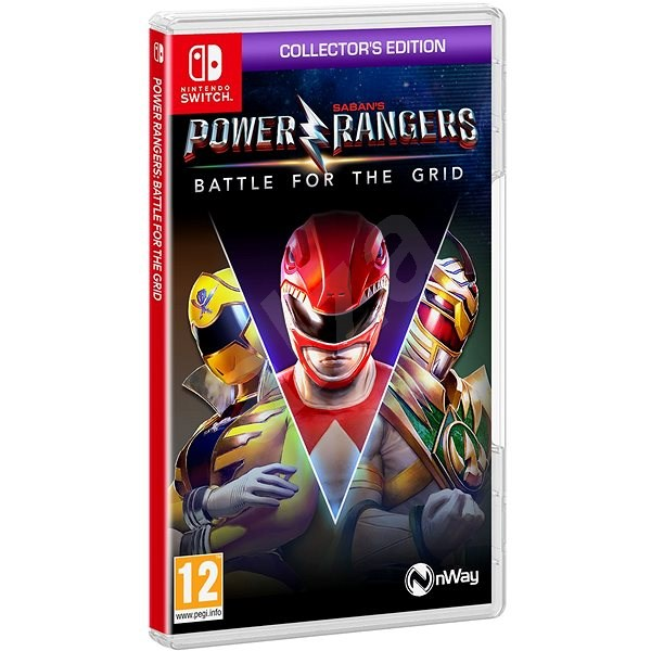 Power Rangers: Battle for the Grid - Collectors Edition - Nintendo Switch - Konsolenspiel