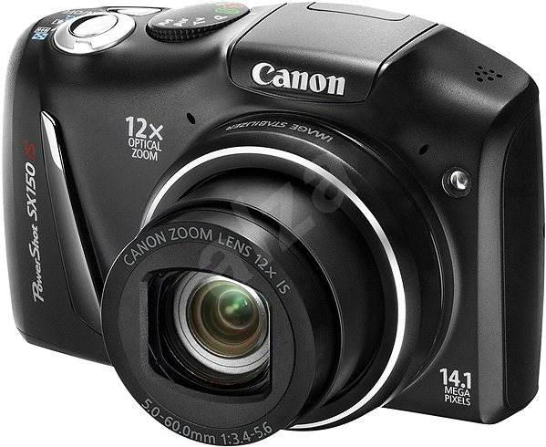 Canon PowerShot SX150 IS černý - Digital Camera