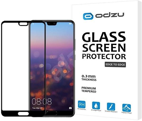 Odzu Glas Displayschutzfolie E2E Huawei P20 - Schutzglas