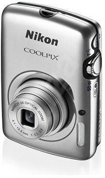 Nikon COOLPIX S01 silver - Digital Camera