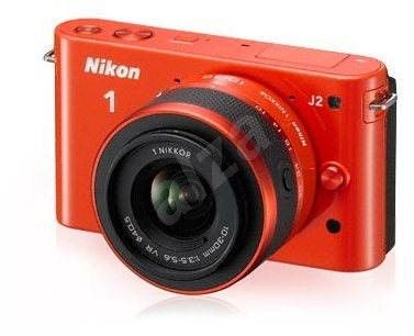 Nikon 1 J2 + Objektivy 10-30mm + 30-110mm orange - Digital Camera