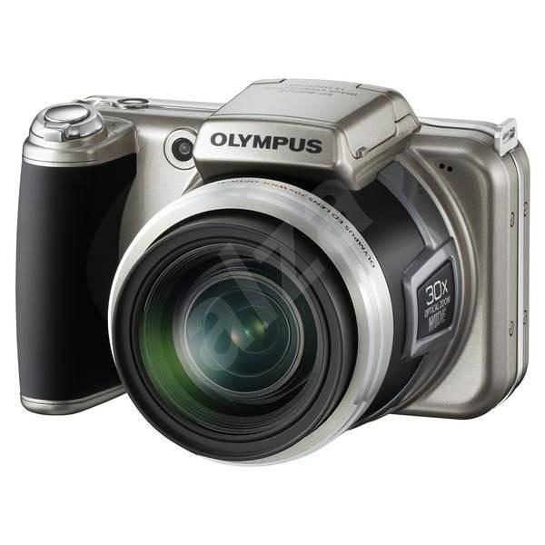 OLYMPUS SP-800UZ silver - Digital Camera