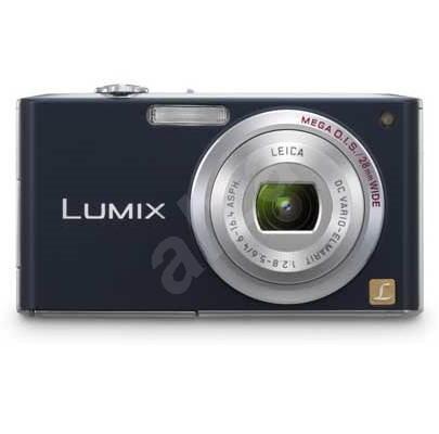 "Panasonic LUMIX DMC-FX33E-A modný (blue), CCD 8.1 Mpx, 3,6x zoom, 2.5"" LCD, Li-Ion, SD/ MMC, face de - Digital Camera"