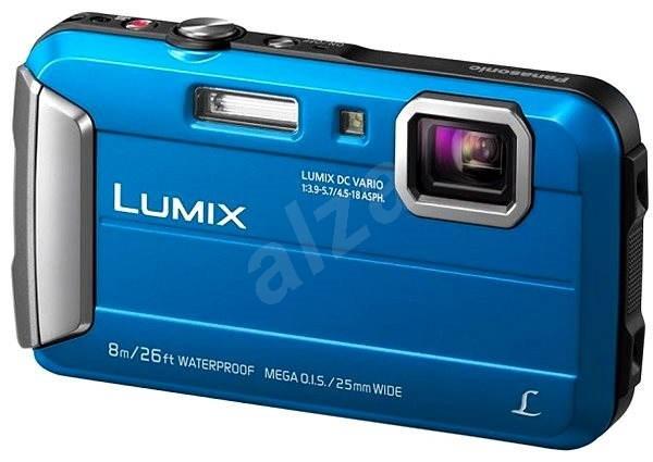 Panasonic LUMIX DMC-FT30 Blau - Digitalkamera