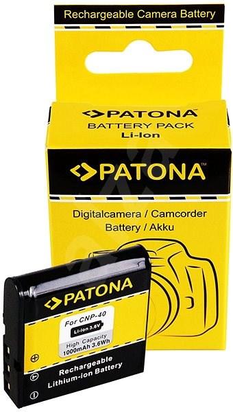 PATONA für Casio NP-40 1000mAh-Li-lon - Kamera Batterien