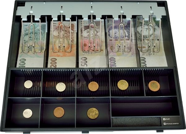 Virtuoser Kunststoffbinder für Geld - Zubehör
