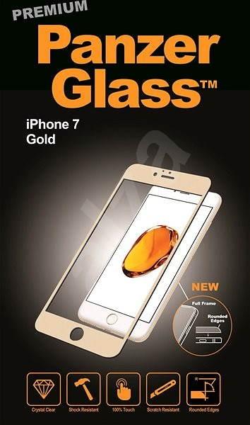PanzerGlass Premium für Apple iPhone 7/8 Gold - Schutzglas