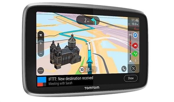 "TomTom GO Premium 6"" World LIFETIME Landkarten - GPS Navi"