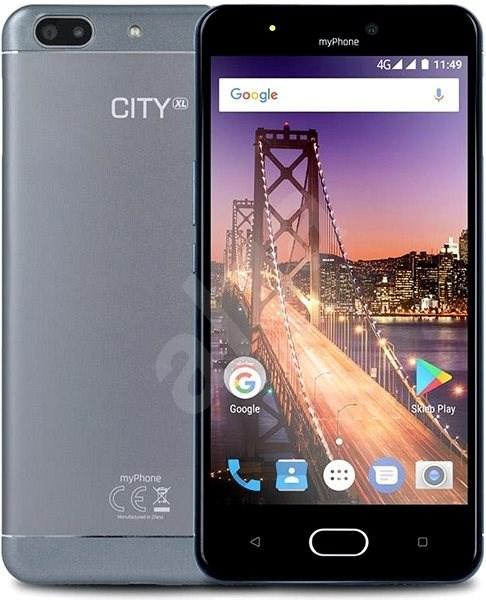 MyPhone City XL Silber - Handy