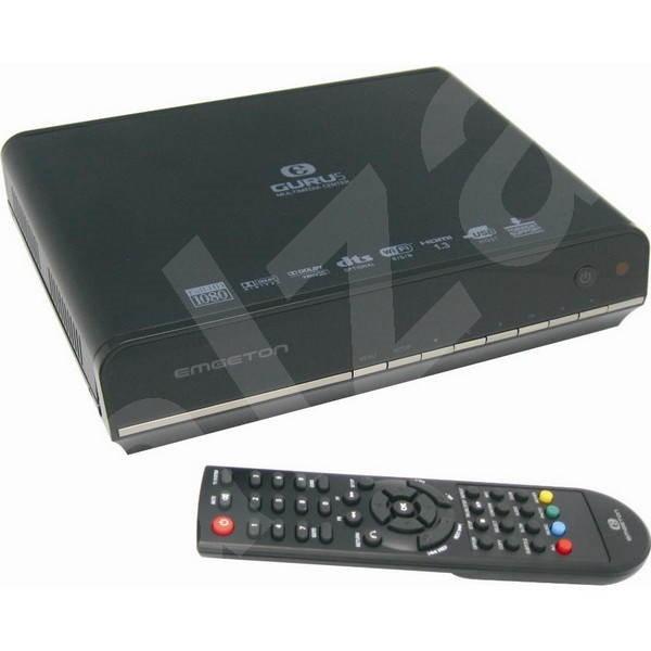Emgeton GURU5 500GB - Multimedia Player
