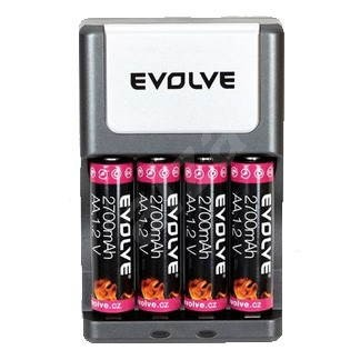 Evolve Power Charger + 4x AA 2700mAh battery - Charger