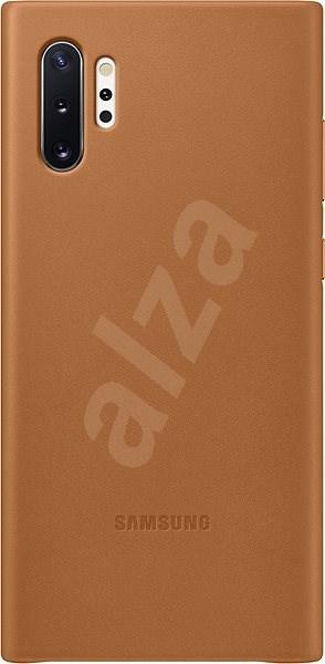 Samsung Leder Back Cover für Galaxy Note10+ Beige - Silikonetui