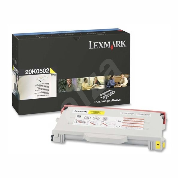 LEXMARK 20K0502 gelb - Toner