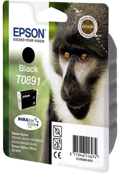 Epson T0891 Schwarz - Tintenpatrone