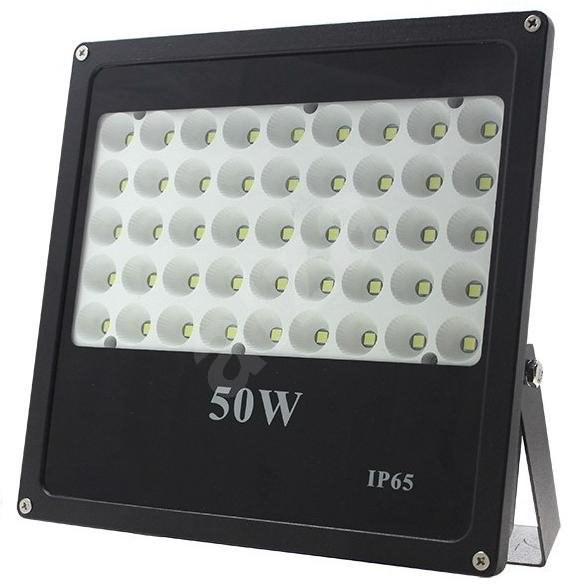 LED-Außenreflektor, 50W, 4250lm, AC 230V, schwarz - LED Reflektor