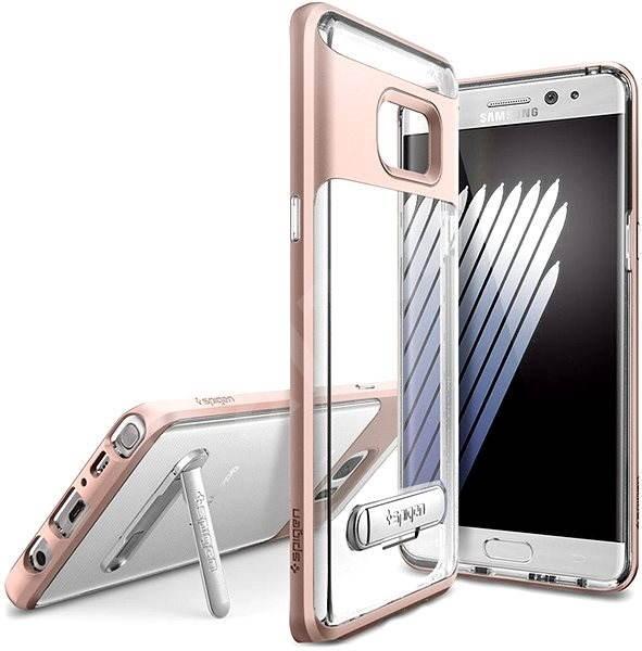 Spigen Hybrid Rose Goldkristall Samsung Galaxy Note 7 - Schutzhülle