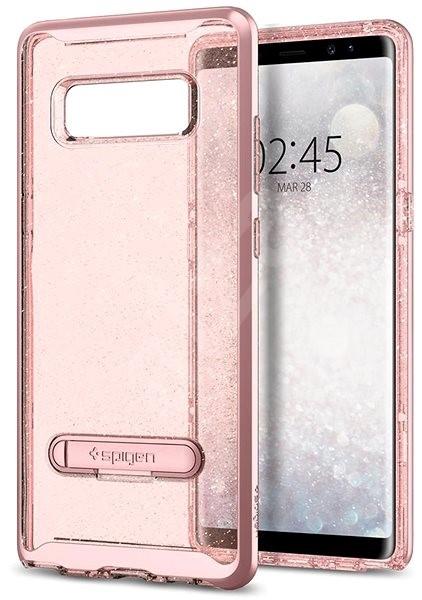 Spigen Crystal Hybrid Glitter Rose Gold Samsung Galaxy Note 8 - Schutzhülle