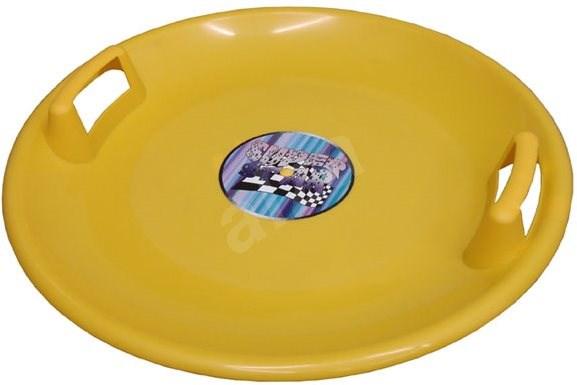 Plastkon, 60cm Diameter, Yellow - Sled