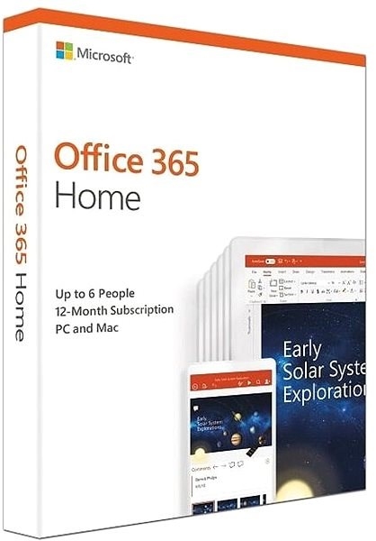 Microsoft Office 365 Home Premium Deu Box