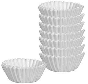 TESCOMA DELÍCIA Förmchen für Mini-Cupcakes / Muffins - O 4 cm - 200 Stück - weiß - Förmchen