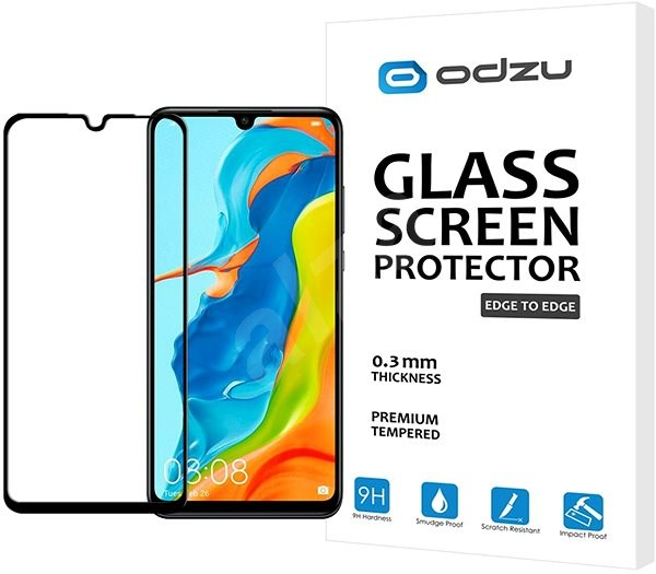 Odzu Glass Screen Protector E2E Huawei P30 Lite/P30 Lite NEW EDITION - Schutzglas
