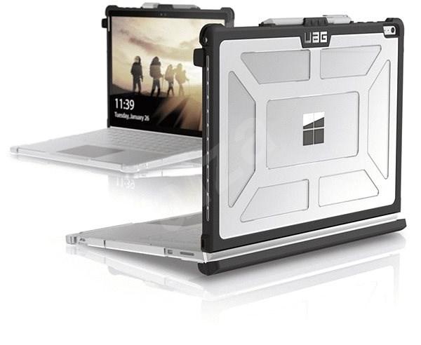 UAG Plasma-Gehäuse Clear Ice Microsoft Surface Book - Silikon-Schutzhülle