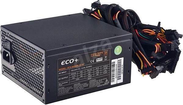 Eurocase ECO+87 ATX-600WA-14 - PC-Netzteil